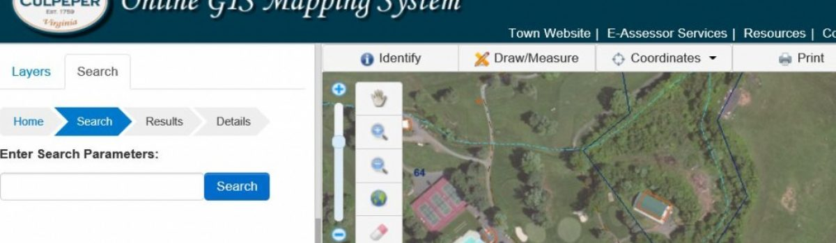Town of Culpeper, VA Launches New Online GIS System By SiteVision, Inc.